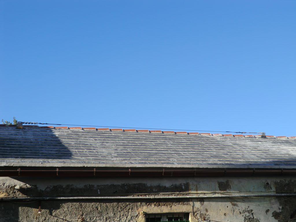 Restauro conservativo tetto abbadini dopo