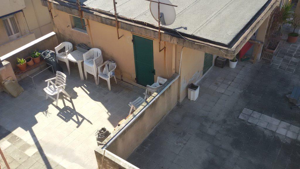 Terrazzo copertura piana pavim gallegg. prima