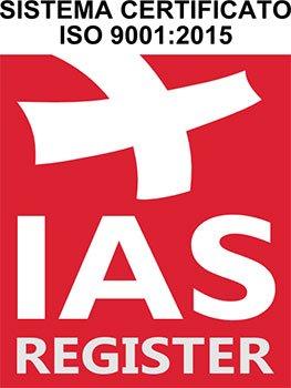 Sistema certificato ISO 9001-2015